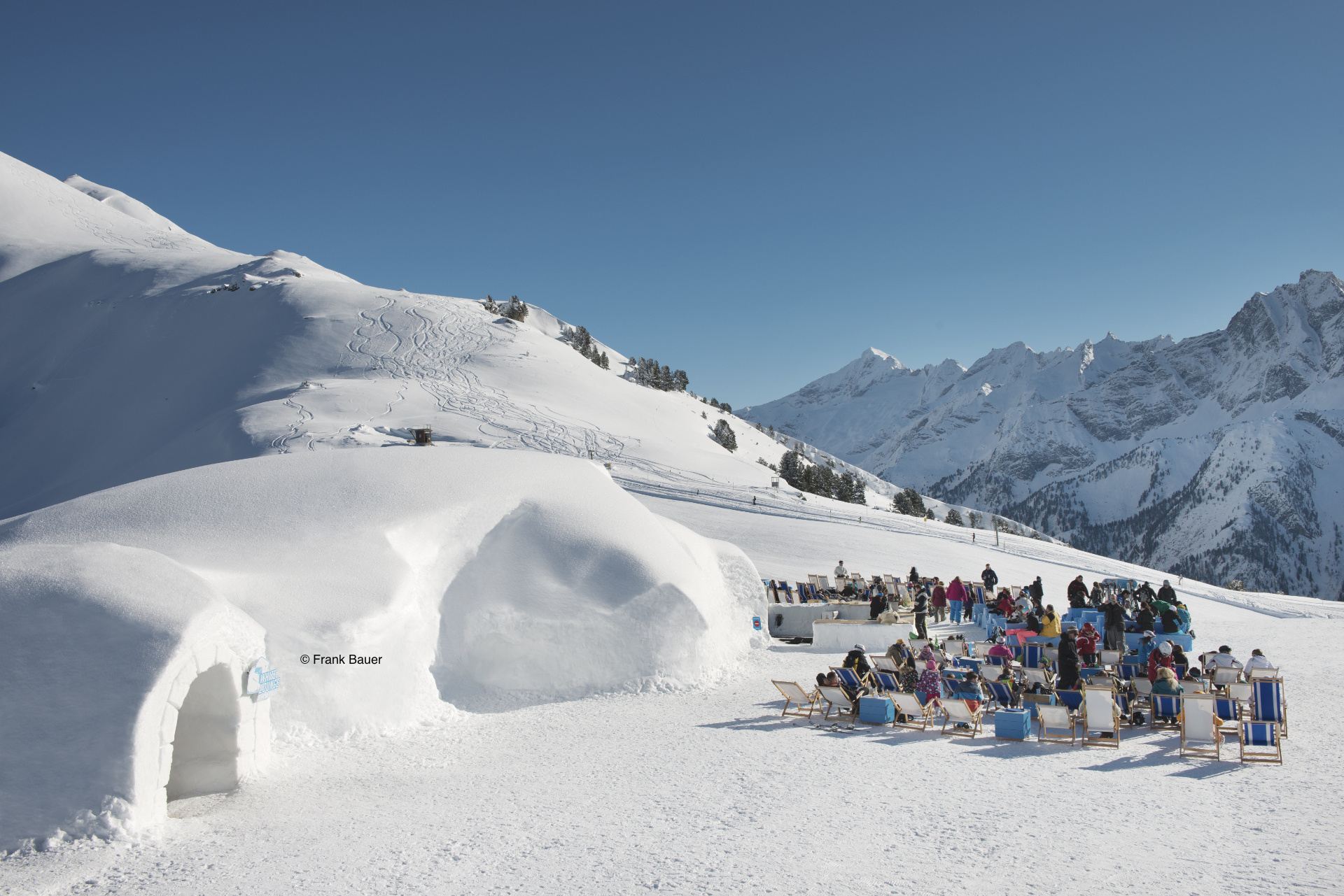 Winter photo from Mayrhofen, Tyrol