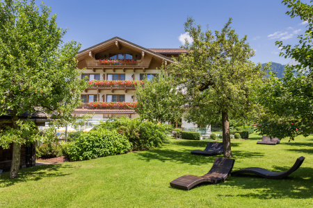 Gutshof Zillertal hotels garden (photo)